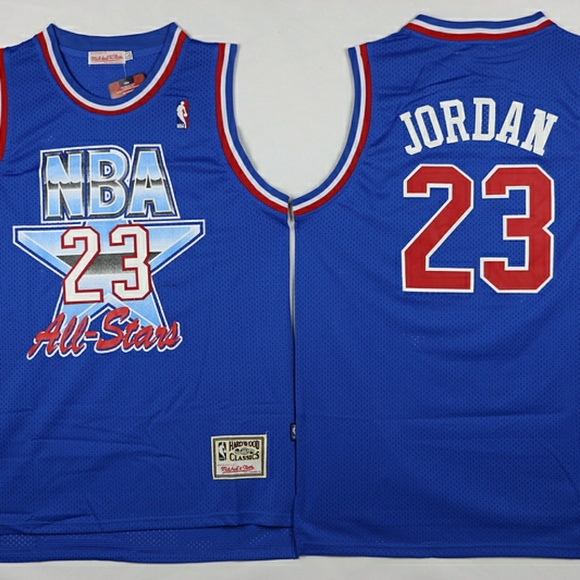79caaf6dbbcd Michael Jordan NBA All Stars Throwback Jersey. M 5ae9f729a825a65600277a1f